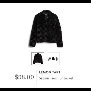 Stitch Fix Faux Fur Jacket